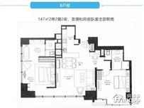 新天地一品苑2室2厅2卫户型图