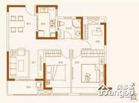 香江黄金时代3室2厅1卫户型图