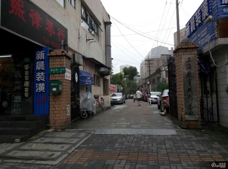 长新小区(长宁) 2居 南北通透 靠近地铁 小区图