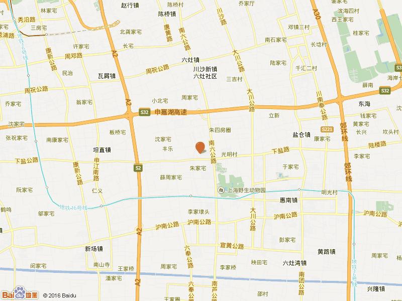 上海两港装饰城 2居 小区图